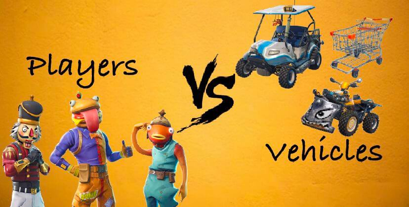 PLAYERS VS VEHICLES