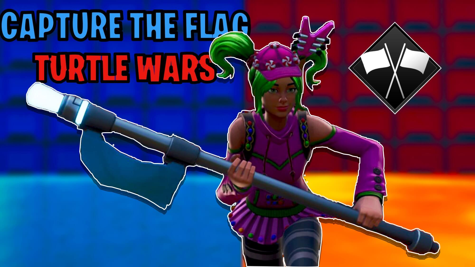 CAPTURE THE FLAG X TURTLE WARS