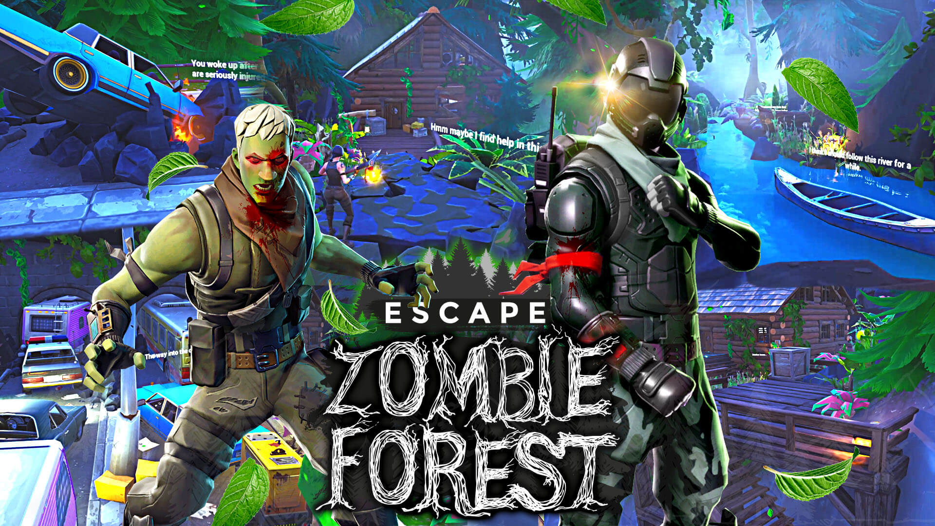 ESCAPE ZOMBIE FOREST